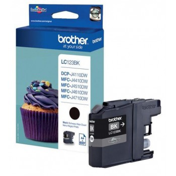 Tusz Brother LC 123BK black