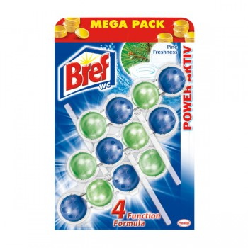 Bref Power Active 3x50g zawieszka do wc