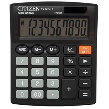 Kalkulator Citizen SDC 810NR