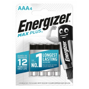 Baterie Energizer Max Plus AAA, 4 szt.
