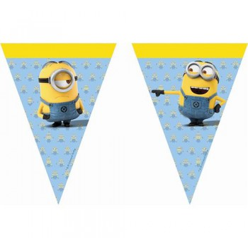Banner Lovely Minions, flagi 2m