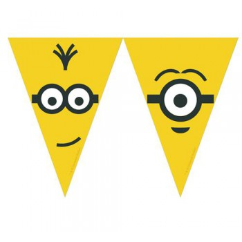Banner Minions Adults, flagi 2,3m