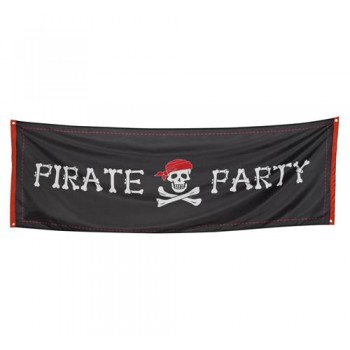 Banner, flaga piracka Pirate Party