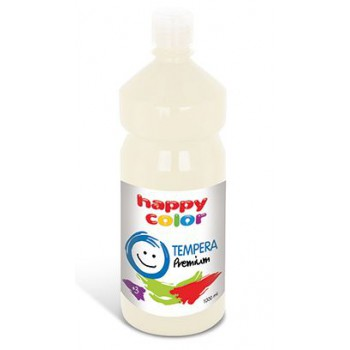 Farba tempera Happy Color 1000ml biały