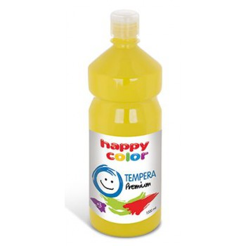 Farba tempera Happy Color 1000ml żółty