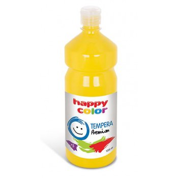 Farba tempera Happy Color 1000ml cytrynowy