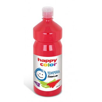 Farba tempera Happy Color 1000ml czerwony