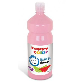 Farba tempera Happy Color 1000ml różowy
