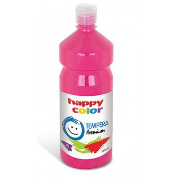 Farba tempera Happy Color 1000ml cyklamen