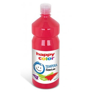 Farba tempera Happy Color 1000ml ciemnoczerwony