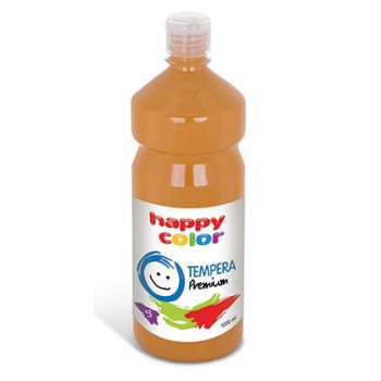 Farba tempera Happy Color 1000ml rudy