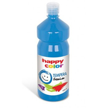 Farba tempera Happy Color 1000ml błękitny