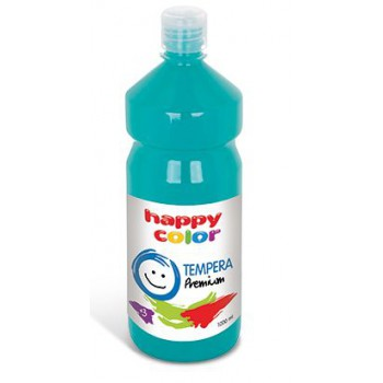 Farba tempera Happy Color 1000ml turkusowy