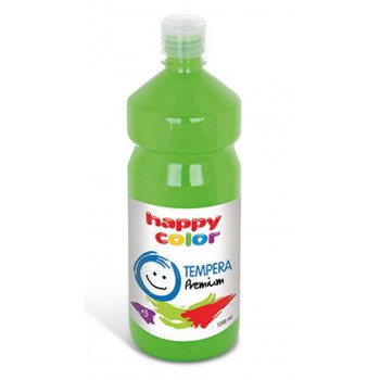 Farba tempera Happy Color 1000ml jasnozielony
