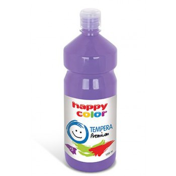 Farba tempera Happy Color 1000ml lawendowy