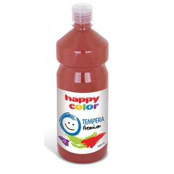 Farba tempera Happy Color 1000ml ciemnobrązowy