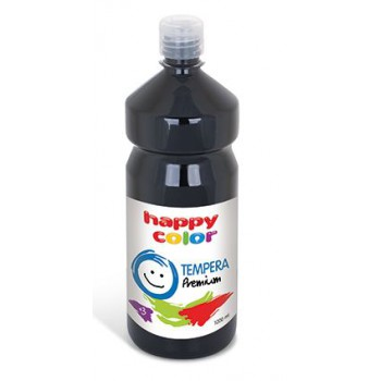 Farba tempera Happy Color 1000ml czarny