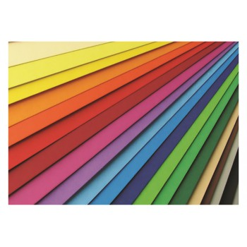 Karton kolorowy Happy Color 220g 70x100 cm jasnoszary