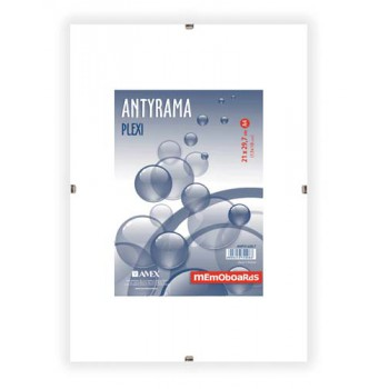 Antyrama plexi Memoboards 210x297 mm