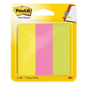 Znaczniki indeksujące Post-It 3 x 100 26x76mm