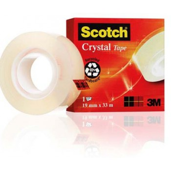 Taśma Scotch Crystal 19mm x 33m